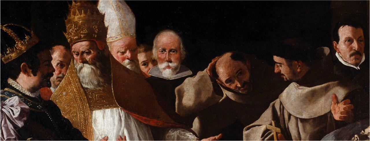 Saint Bonaventure's Body Lying in State (1629)