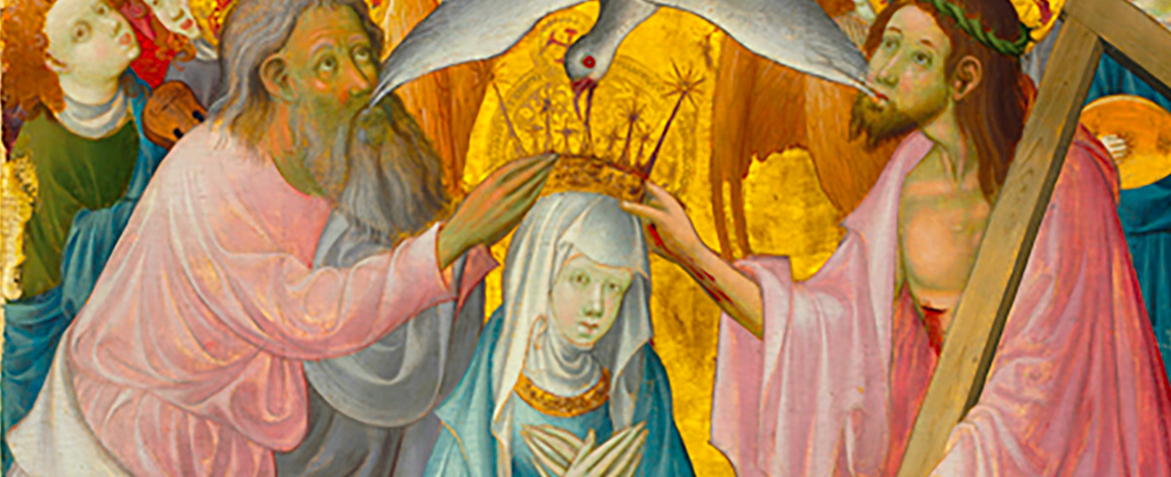 Coronation of the Virgin with the Trinity (c. 1400)