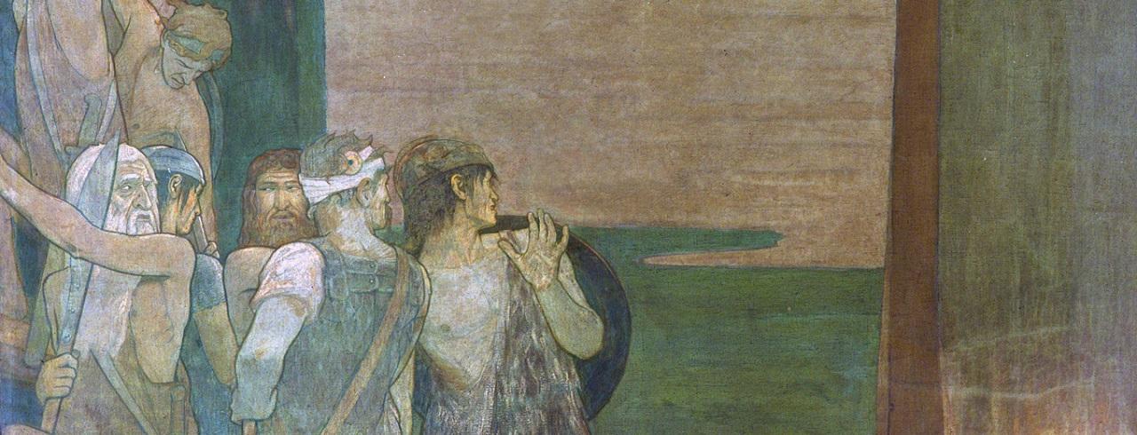 The Landing of Saint Patrick in Ireland (1912)